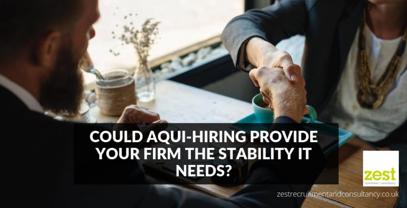 Aqui-hiring in law