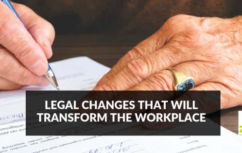 Legal changes to employment